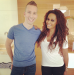 J.Son with Mel B